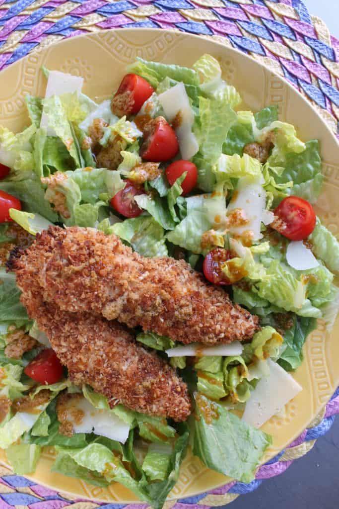Chicken Parmesan Salad 2