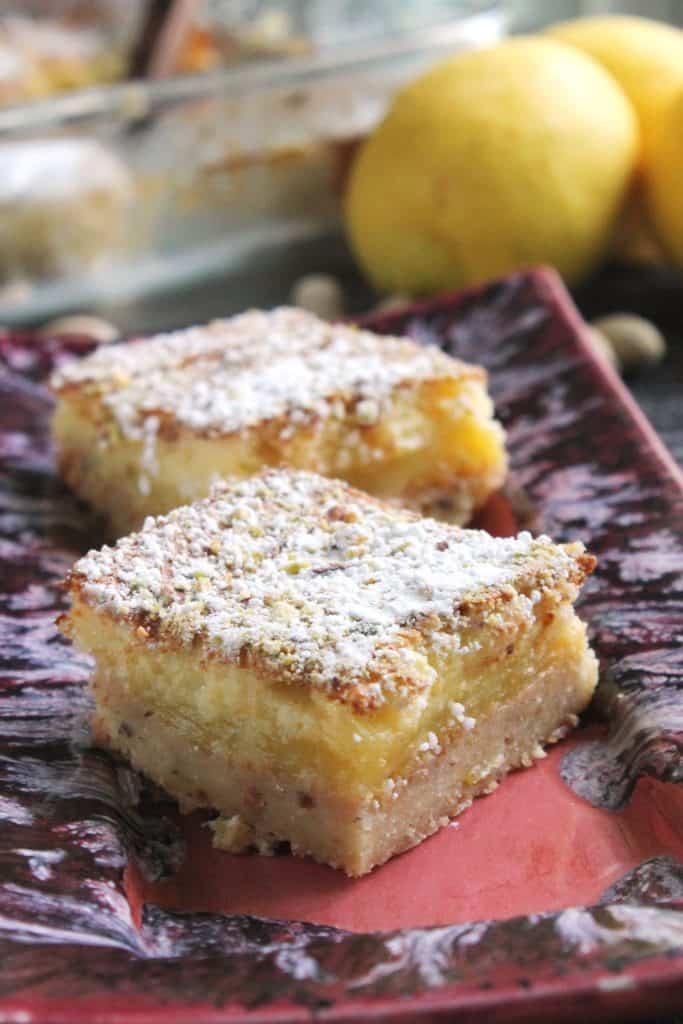 Lemon-Lime Pistachio Bars 1