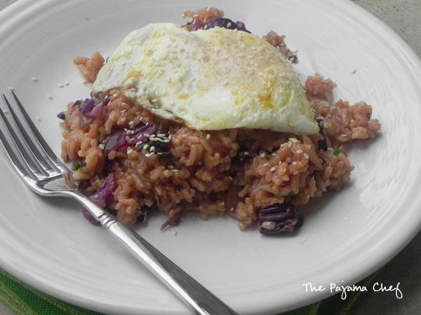 Sriracha And SPAM Fried Rice Recipe — Dishmaps