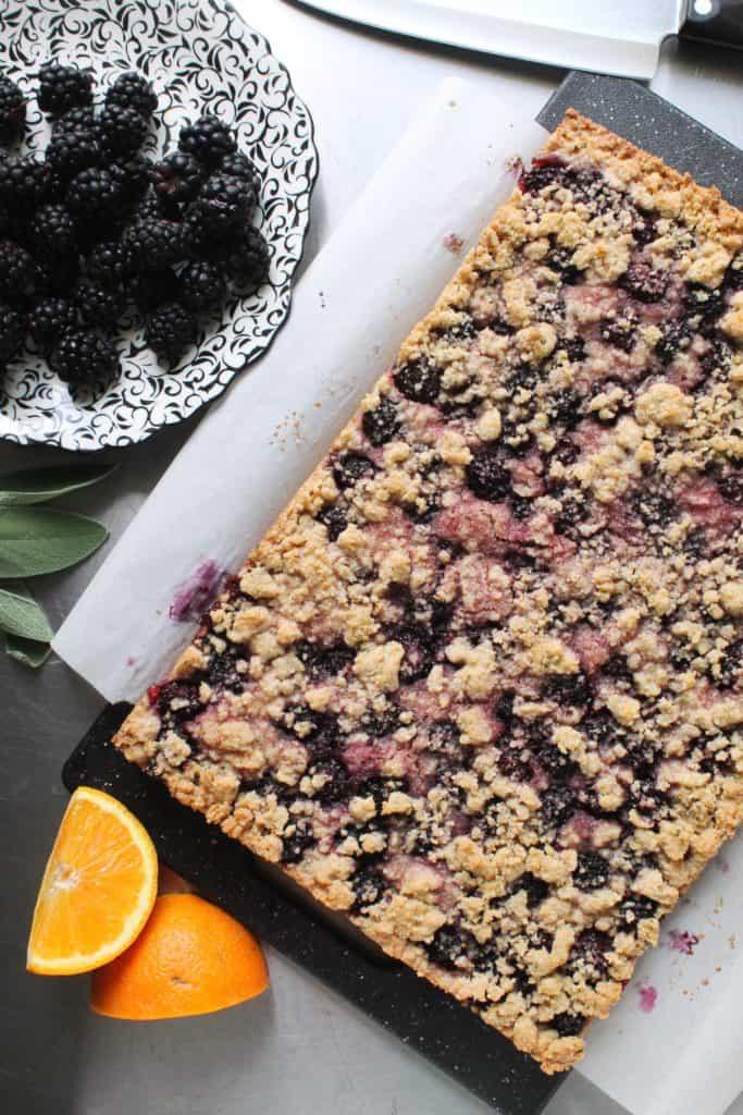 Blackberry-Sage Pie Bars 1
