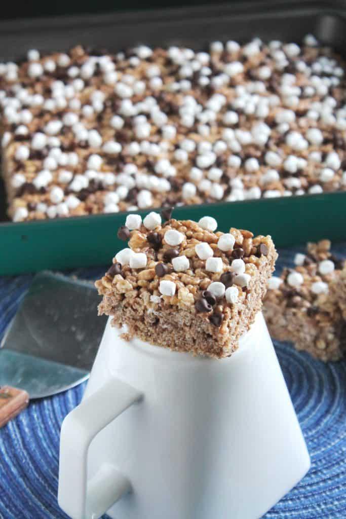 Hot Chocolate Rice Crispy Treats 1