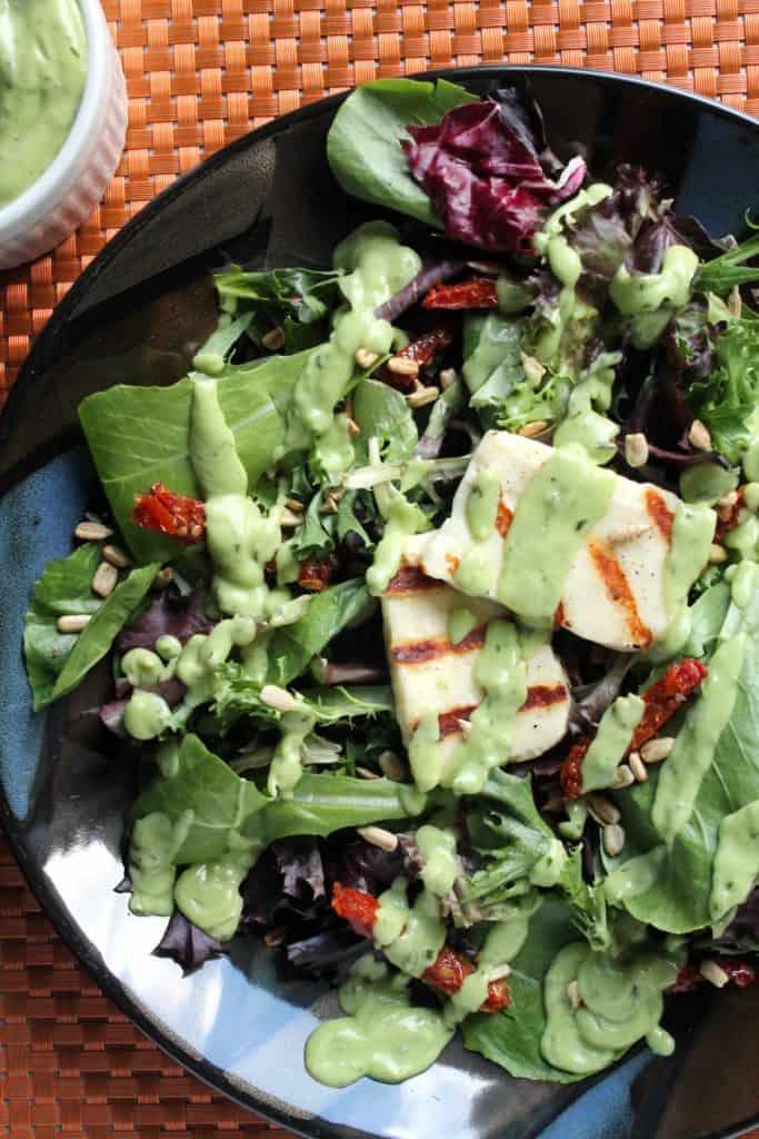 Grilled Halloumi Salad 1