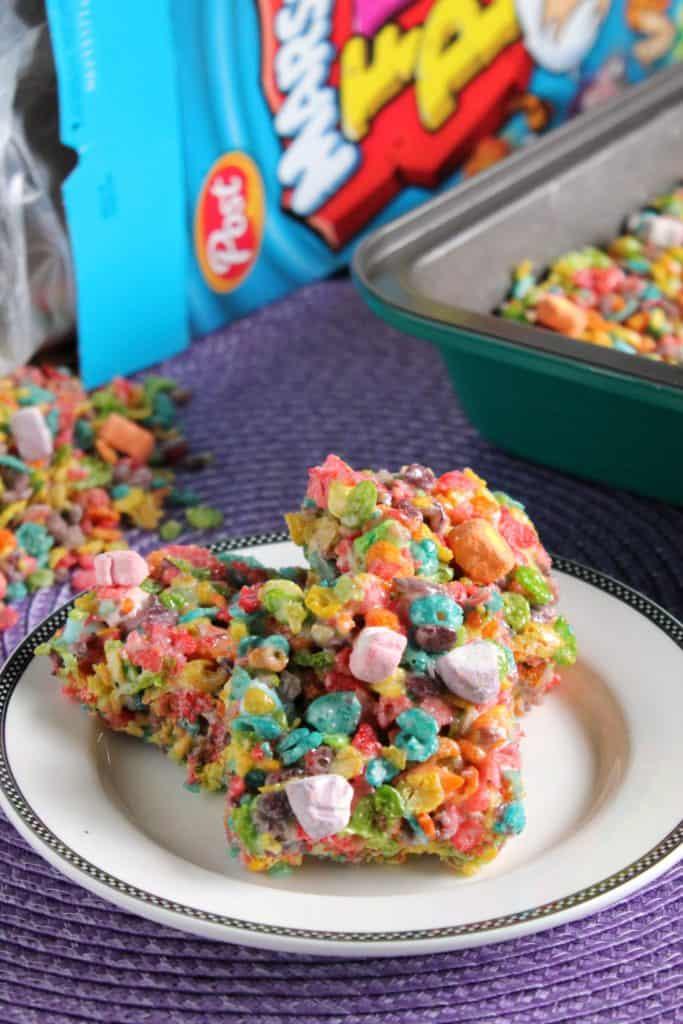 Fruity Pebbles Marshmallow Crispy Treats 2