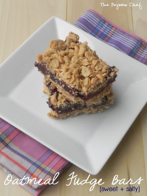 oatmeal-fudge-bars