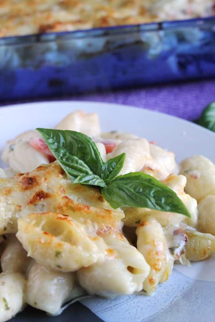 Creamy Herb and Tomato Pasta Casserole 3