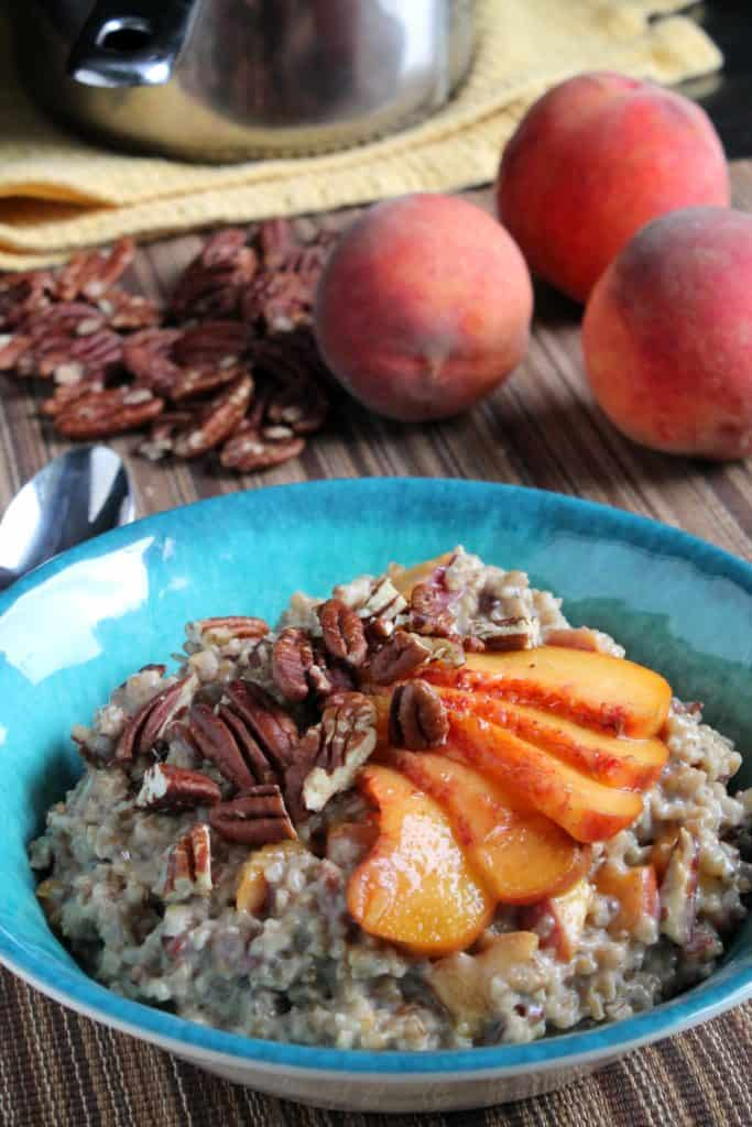 Peach Pecan Oatmeal 1
