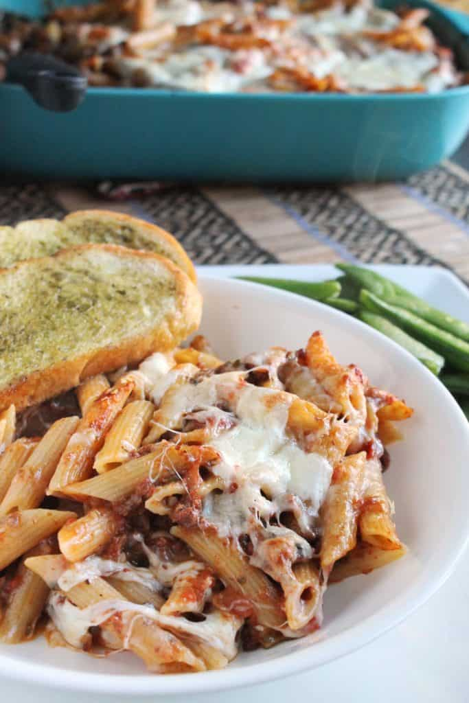 Baked Penne with Slow Cooker Ragu Bolognese 4