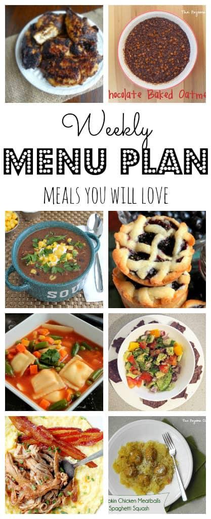 Weekly Meal Plan #34-pinterest