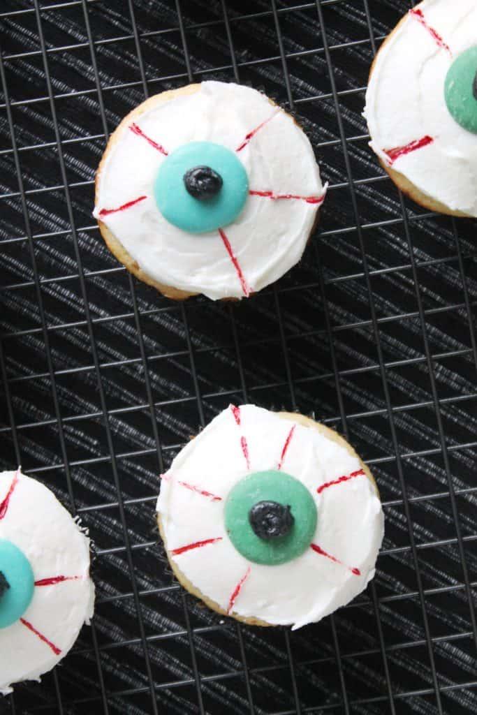 White Chocolate-Raspberry Eyeball Cupcakes 1