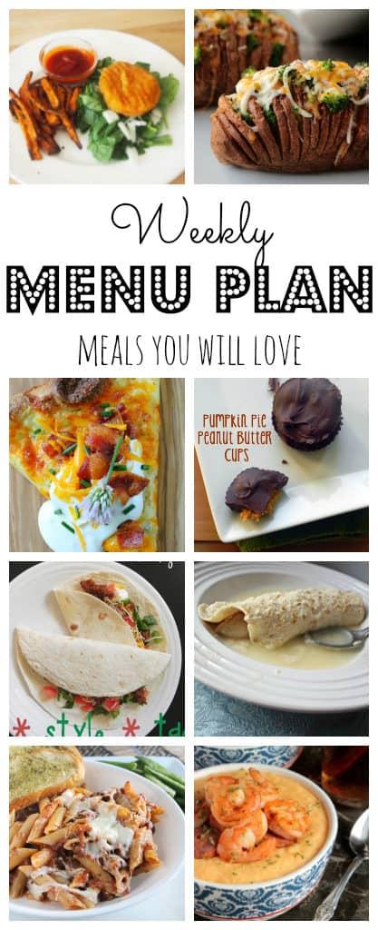 Weekly Meal Plan #37-pinterest