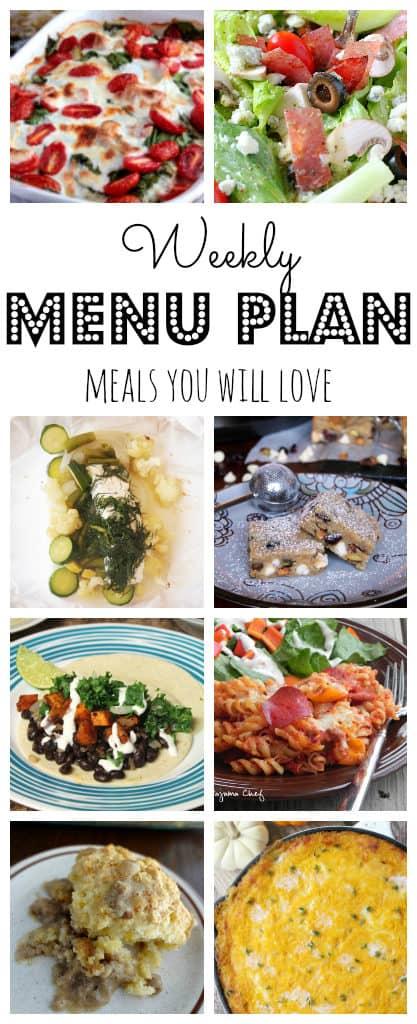 Weekly Meal Plan #40-pinterest