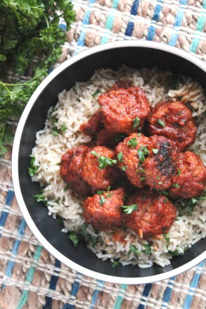 Slow Cooker Greek Meatballs 1