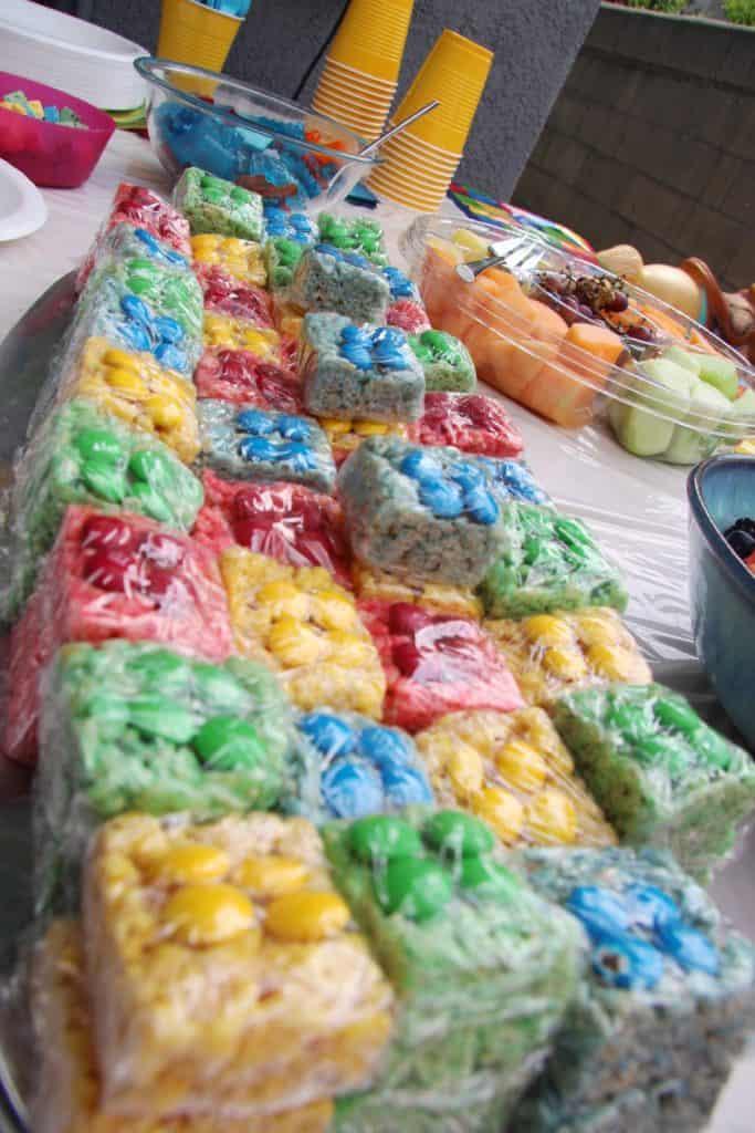 Luke S 5th Birthday Amp Lego Rice Crispy Treats The Spiffy
