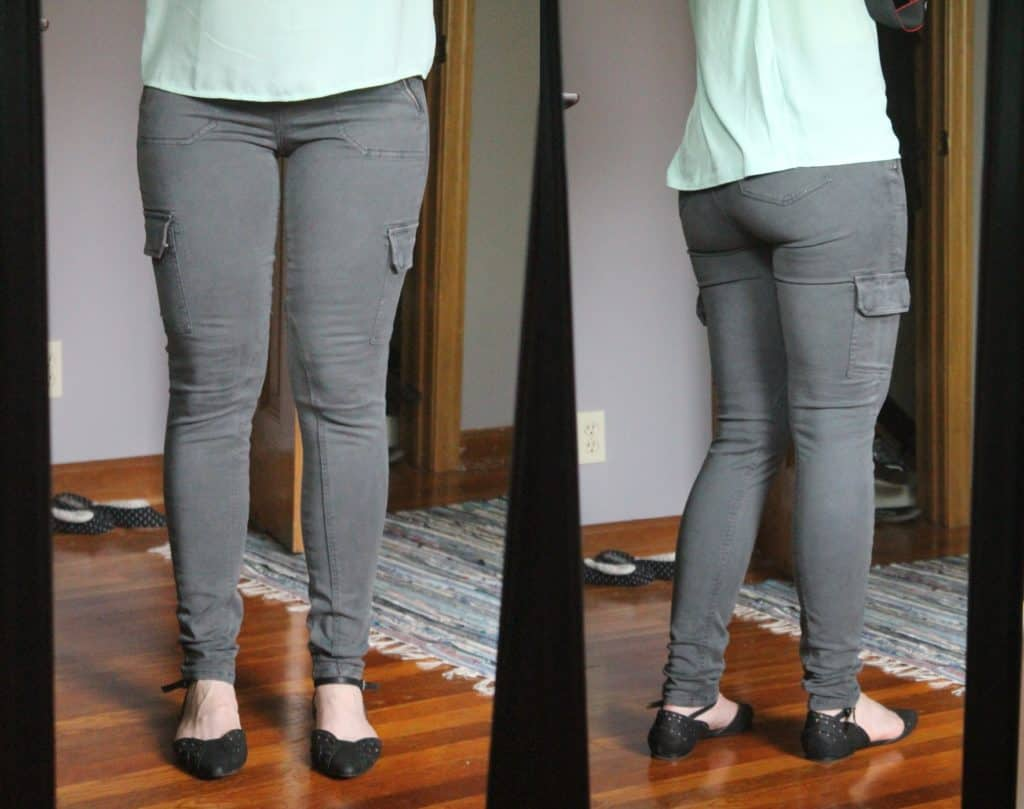 Level 99 Jenny cargo skinny pant