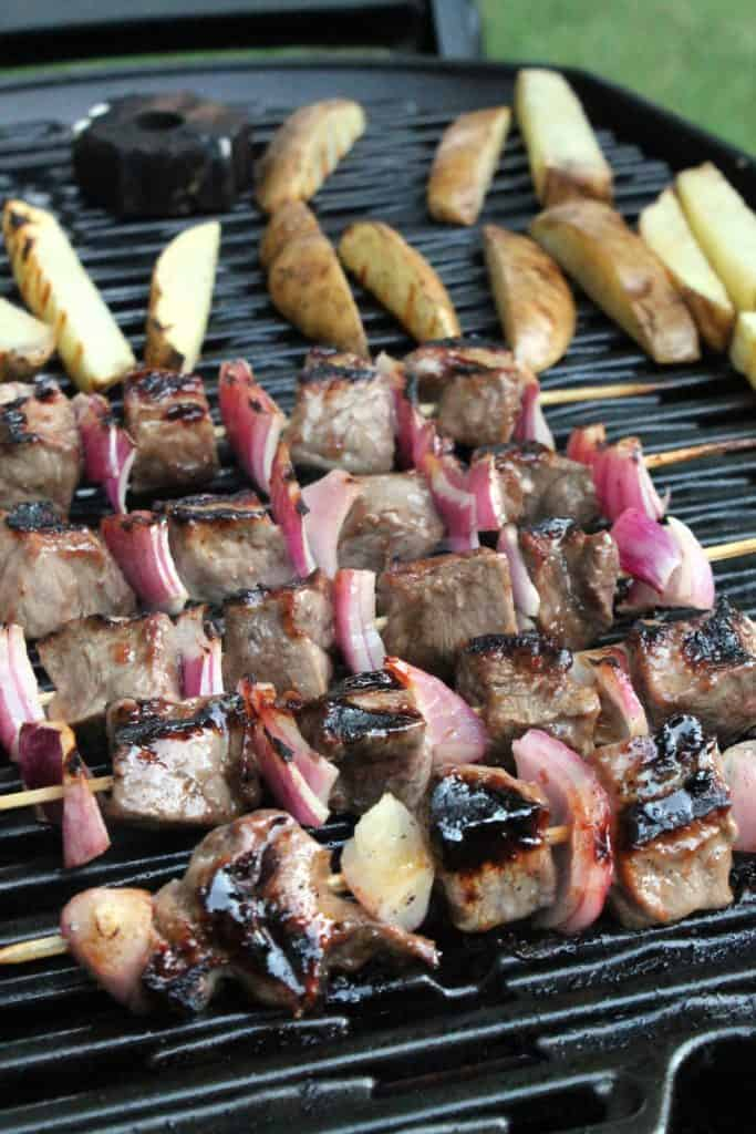 Fig-Balsamic Beef Kabobs 2