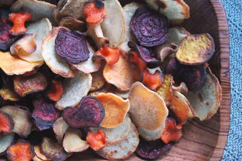 Homemade Veggie Chips 4