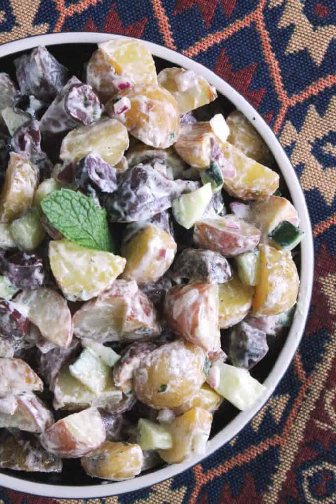 Creamy Lemon Mediterranean Potato Salad 5