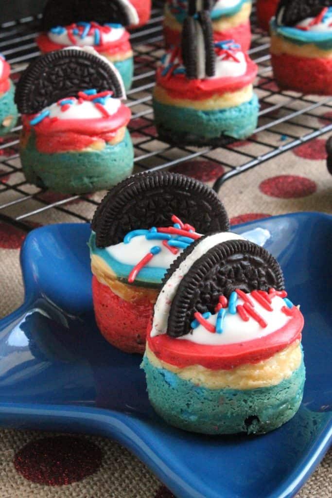 Firework Oreo Cheesecake Bites 3