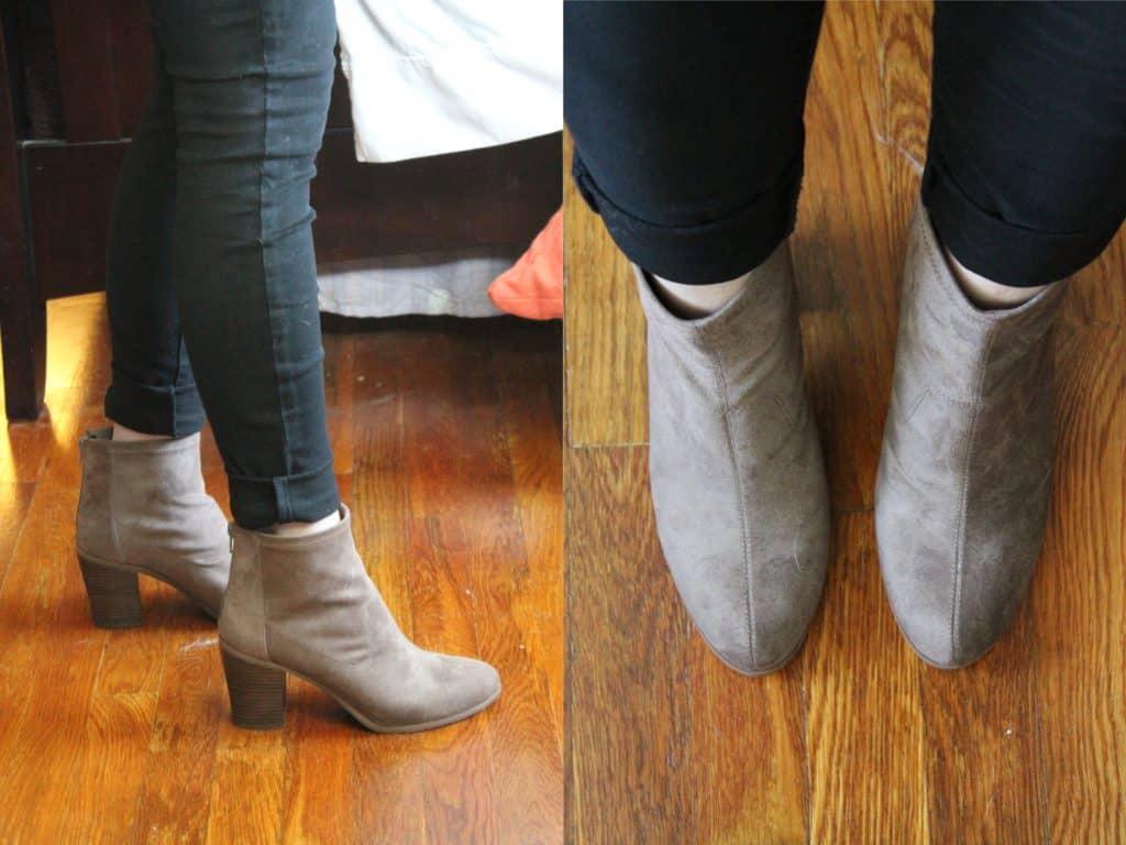 BC Footwear Ringmaster Faux Suede Bootie