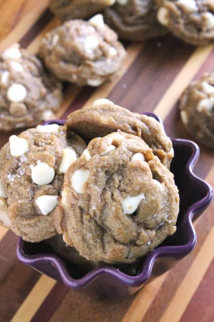 Pumpkin White Chocolate Chip Macadamia Nut Cookies 3