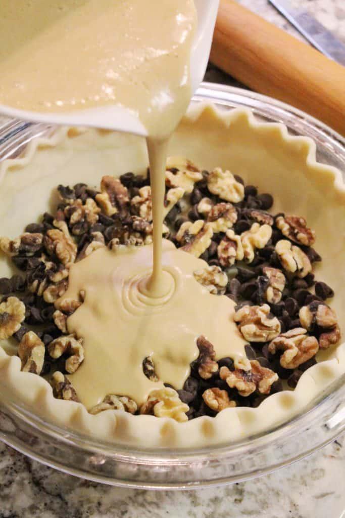 Kentucky Derby Chocolate Walnut Pie 2