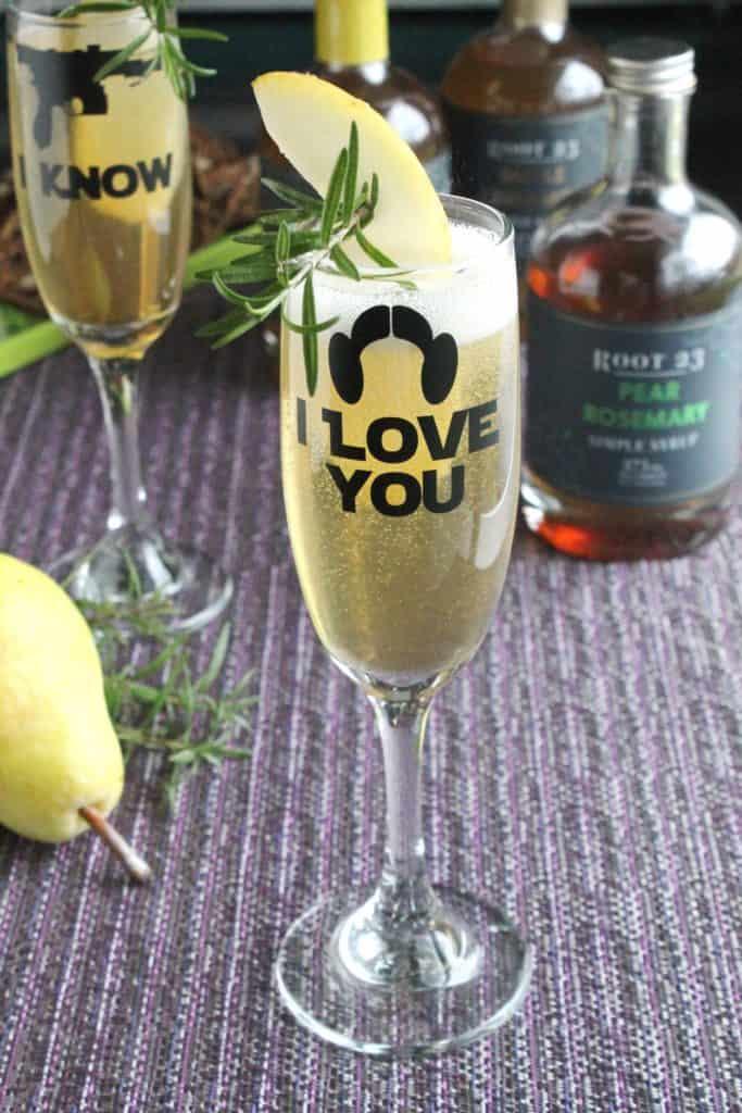 Pear Rosemary Sparkler 1