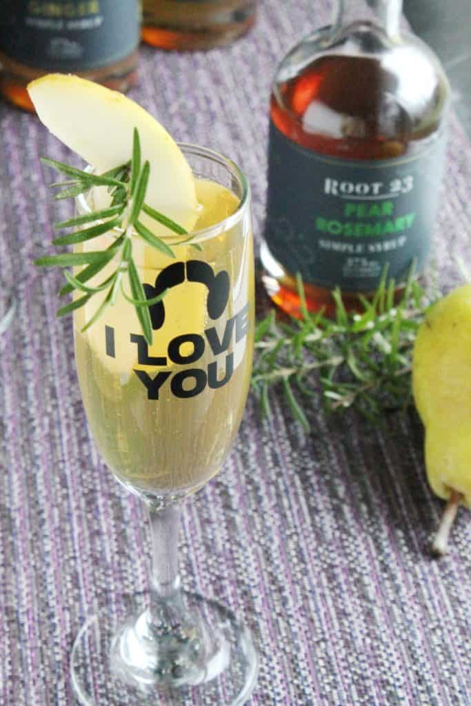 Pear Rosemary Sparkler 3