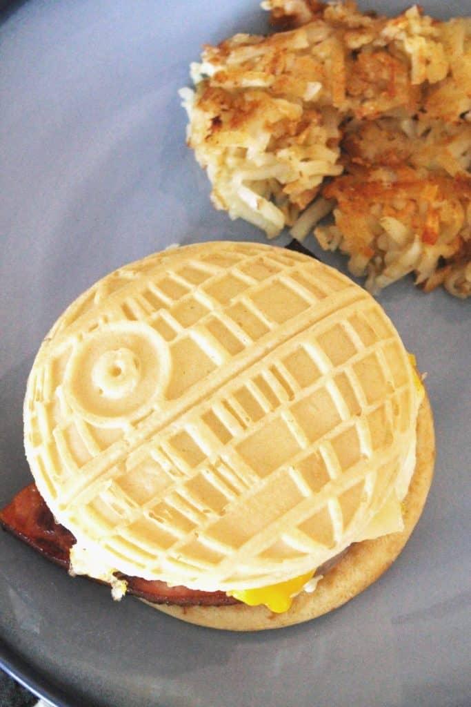 Ham, Egg & Cheese Pancake Sandwiches 4