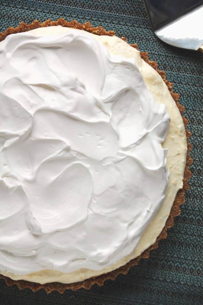 No-Bake Eggnog Pudding Pie 1