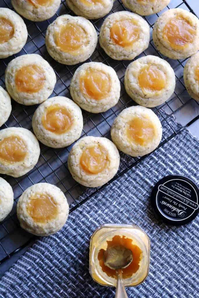 Lemon Poppy Seed Cheesecake Thumbprints 2