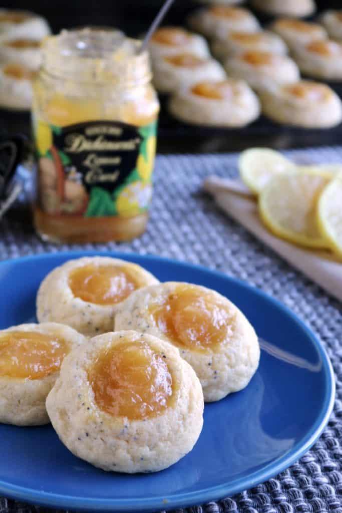 Lemon Poppy Seed Cheesecake Thumbprints 3