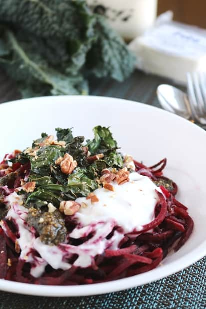 how to make beet noodles